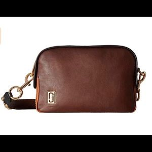 Marc Jacobs The Squeeze Crossbody Bag - Chocolate
